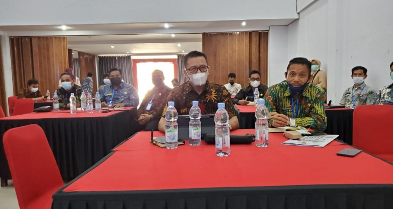 Kepala Dinas Kominfopers, Safaruddin mengikuti Workshop Pendampingan Penilaian Kepatuhan Penyelenggara Pelayanan Publik