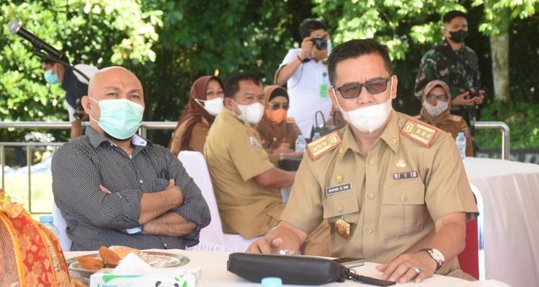 Kepala Dinas Kominfopers Safaruddin menghadiri acara Pembukaan Rapat Koordinasi Strategis Pimpinan